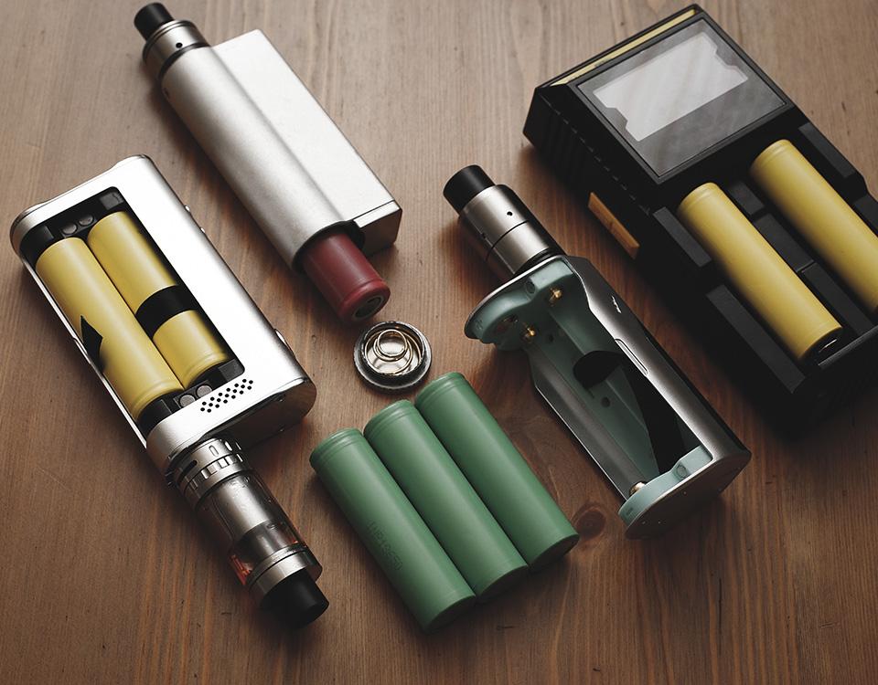 Batteries pour e-cigarettes